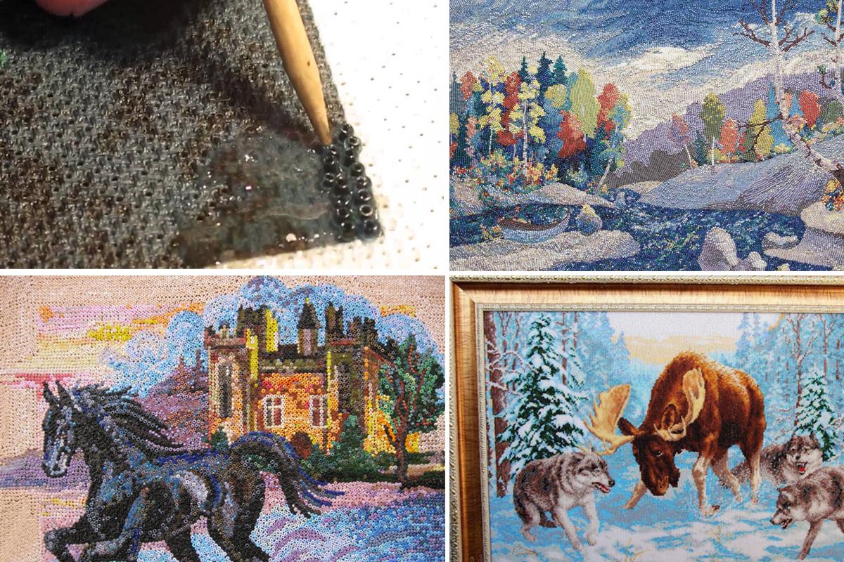 Картина из бисера - искусство доступное каждому