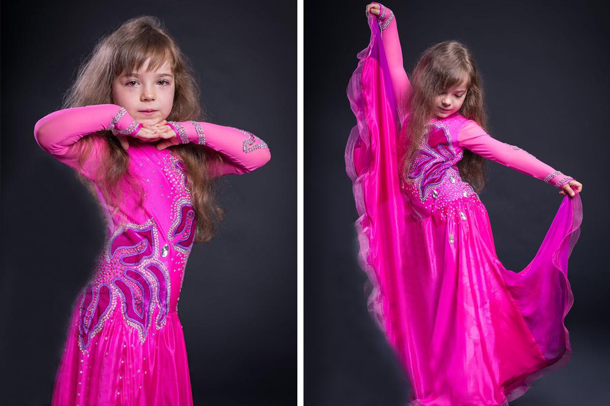 Украшаем танцевальный костюм для девочки-3