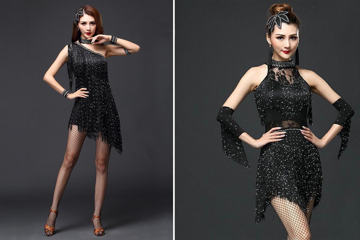 Украшаем танцевальный костюм для девочки-4