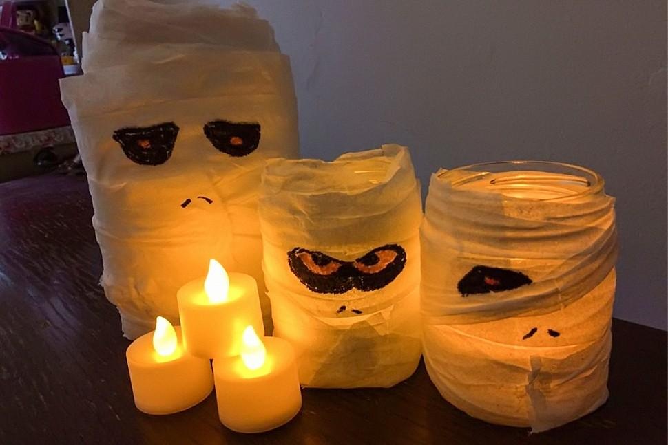 Оригинальные украшения к Хэллоуину