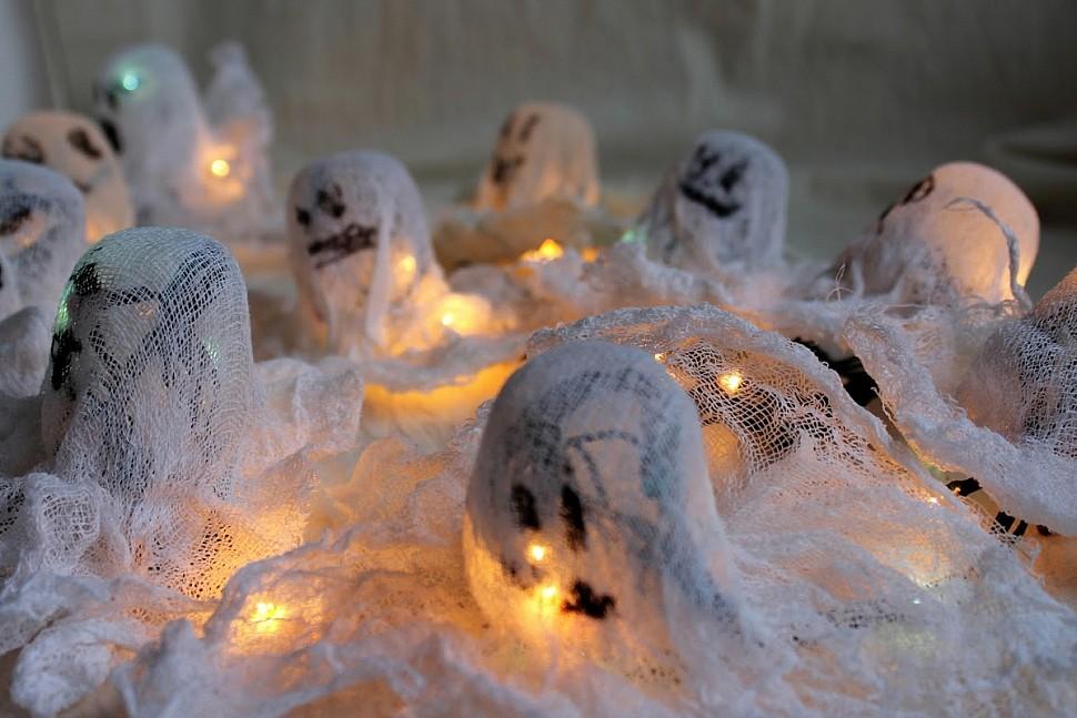 Оригинальные украшения к Хэллоуину-2