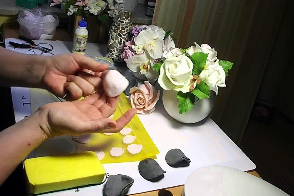 Как использовать холодный фарфор в рукоделии-3