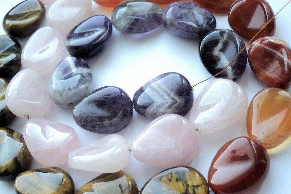 Как создать украшения из камня своими руками-2