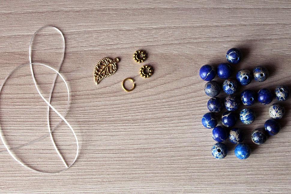 Как создать украшения из камня своими руками-3