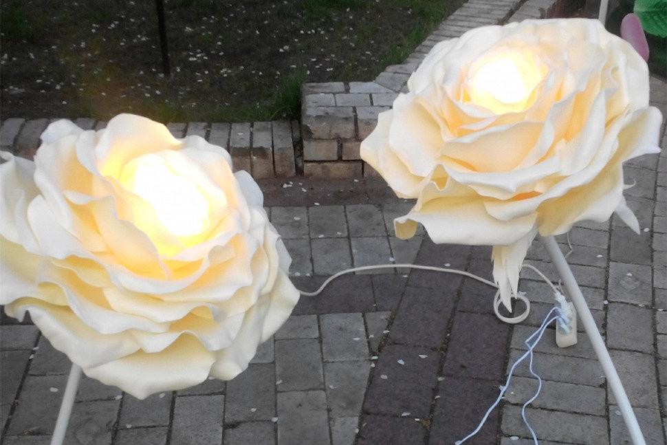Как сделать светильник из фоамирана-5