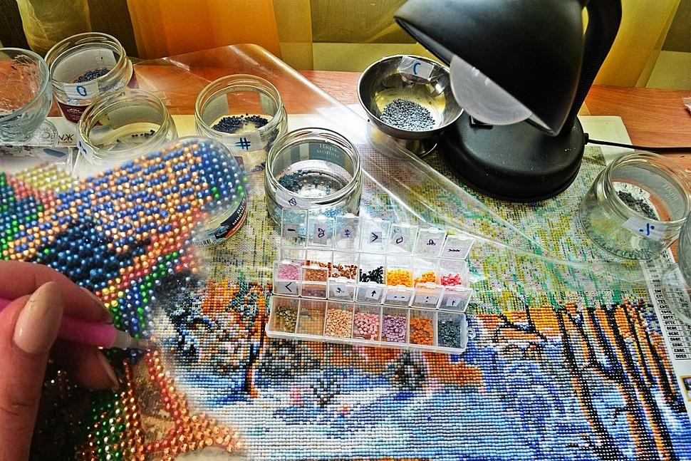 Как научиться алмазной живописи-3