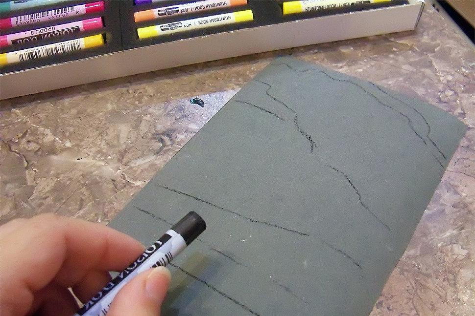 Как рисовать сухой пастелью-3