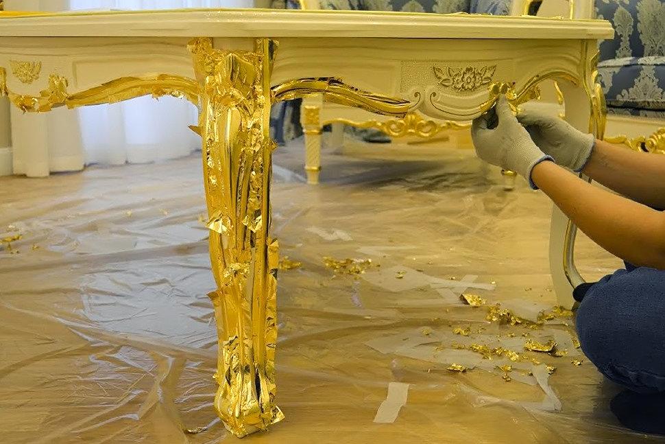 Оживляем старый стол-3