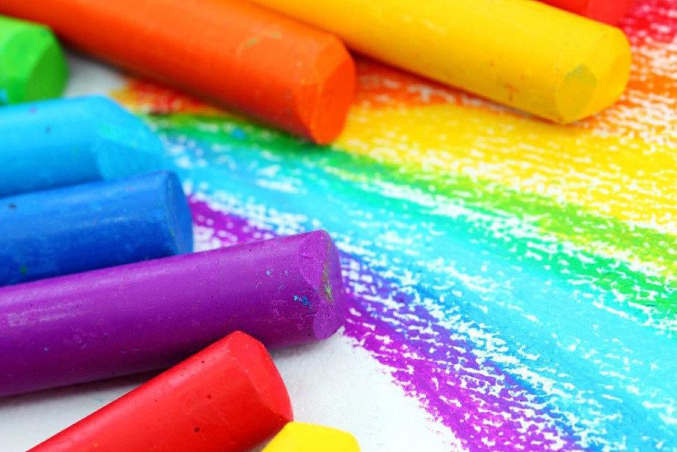 Как рисовать сухой пастелью-4
