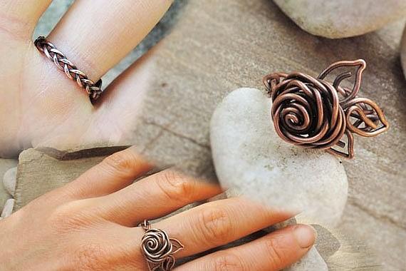 Бижутерия своими руками: минималистические кольца