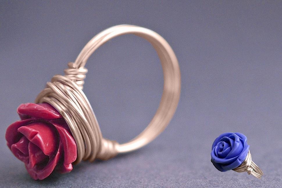 Бижутерия своими руками: минималистические кольца-2