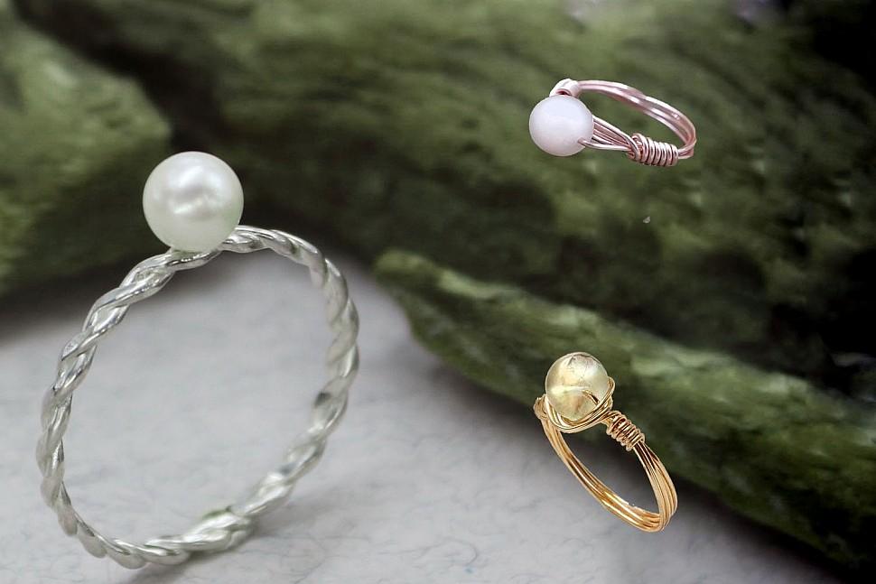 Бижутерия своими руками: минималистические кольца-3