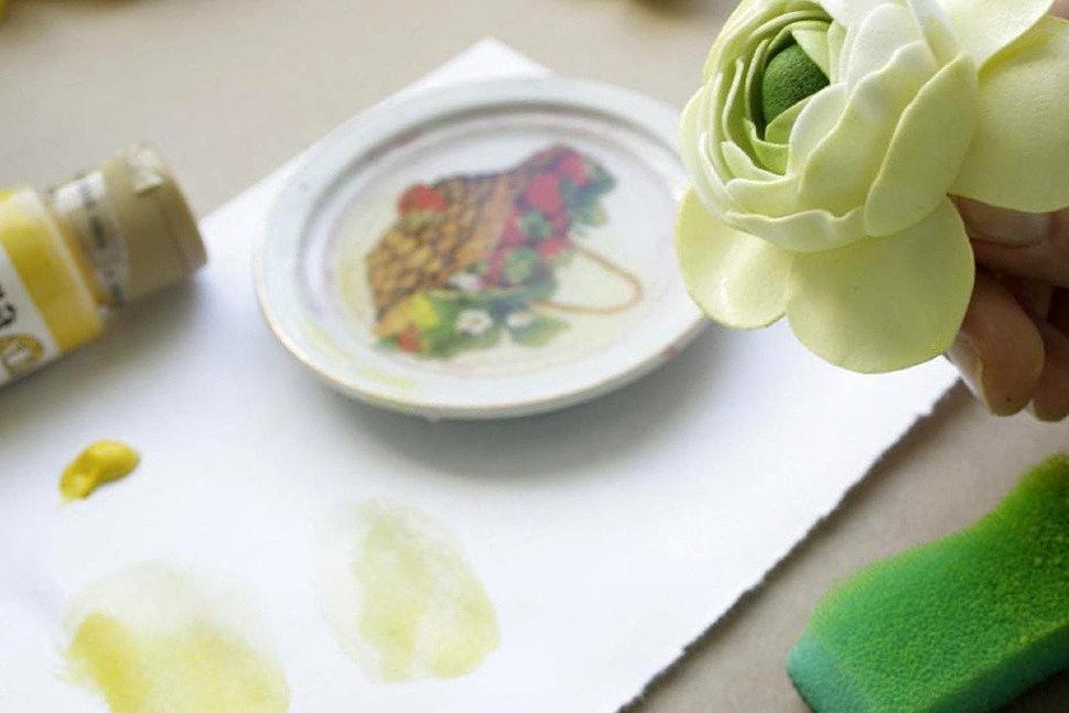 Окрашивание и тонировка фоамирана в домашних условиях-2