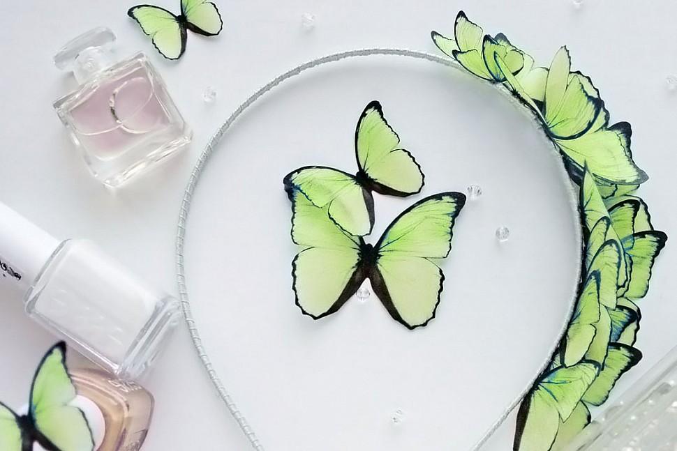 Тренд сезона - использование бабочек в украшениях-2