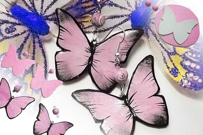 Тренд сезона - использование бабочек в украшениях-3