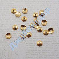 Шапочка для бусин золото, 41,5 мм (20 шт)